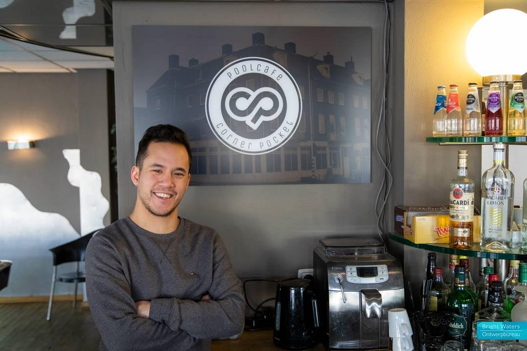 Poolcafé Corner Pocket - Branding en Fotografie