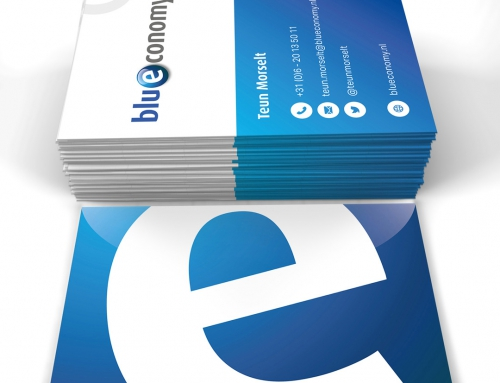 Blueconomy – Visitekaartje.