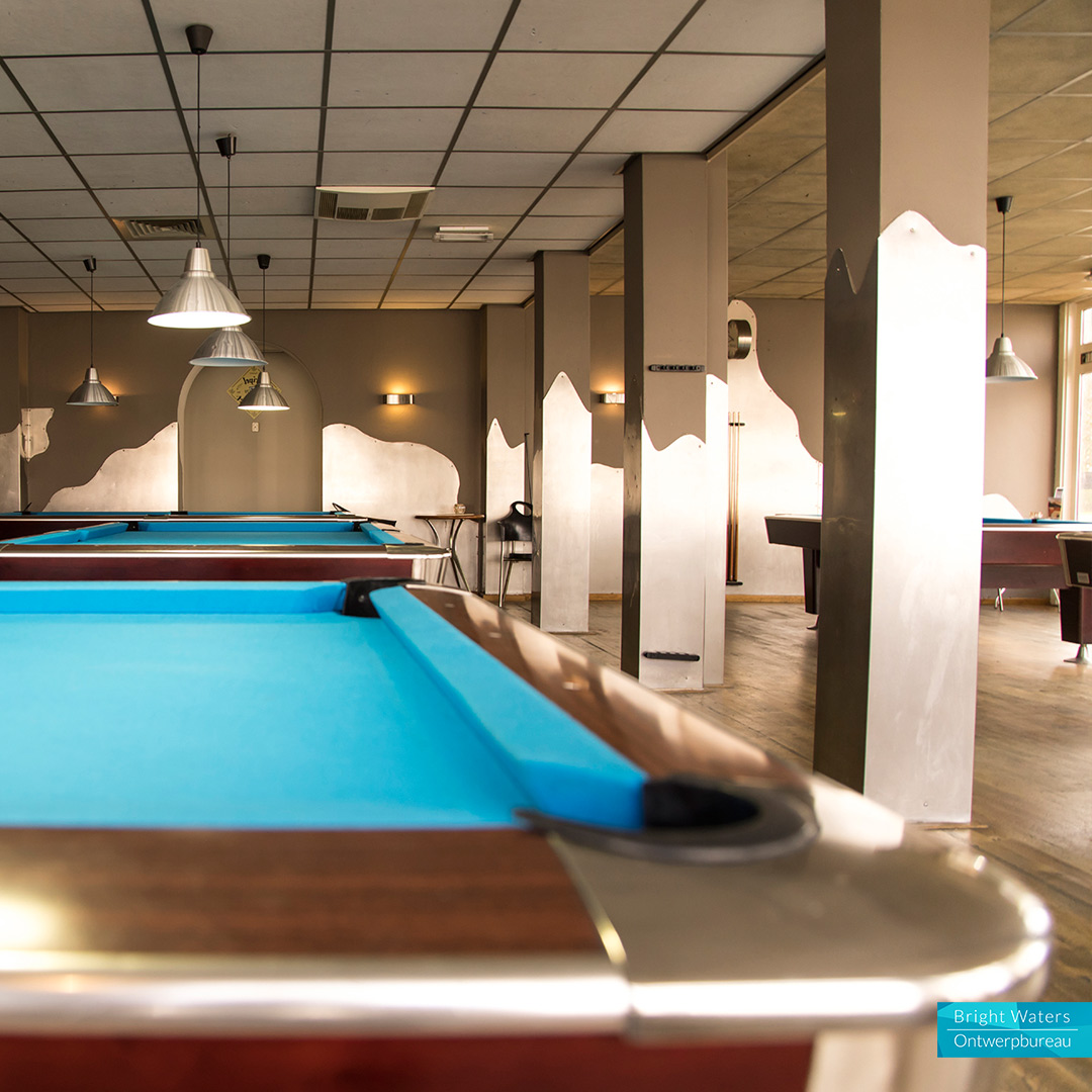 Poolcafé Corner Pocket - Fotografie