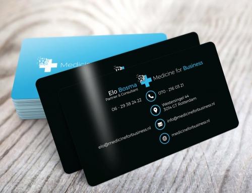 Medicine for Business – Visitekaartje.