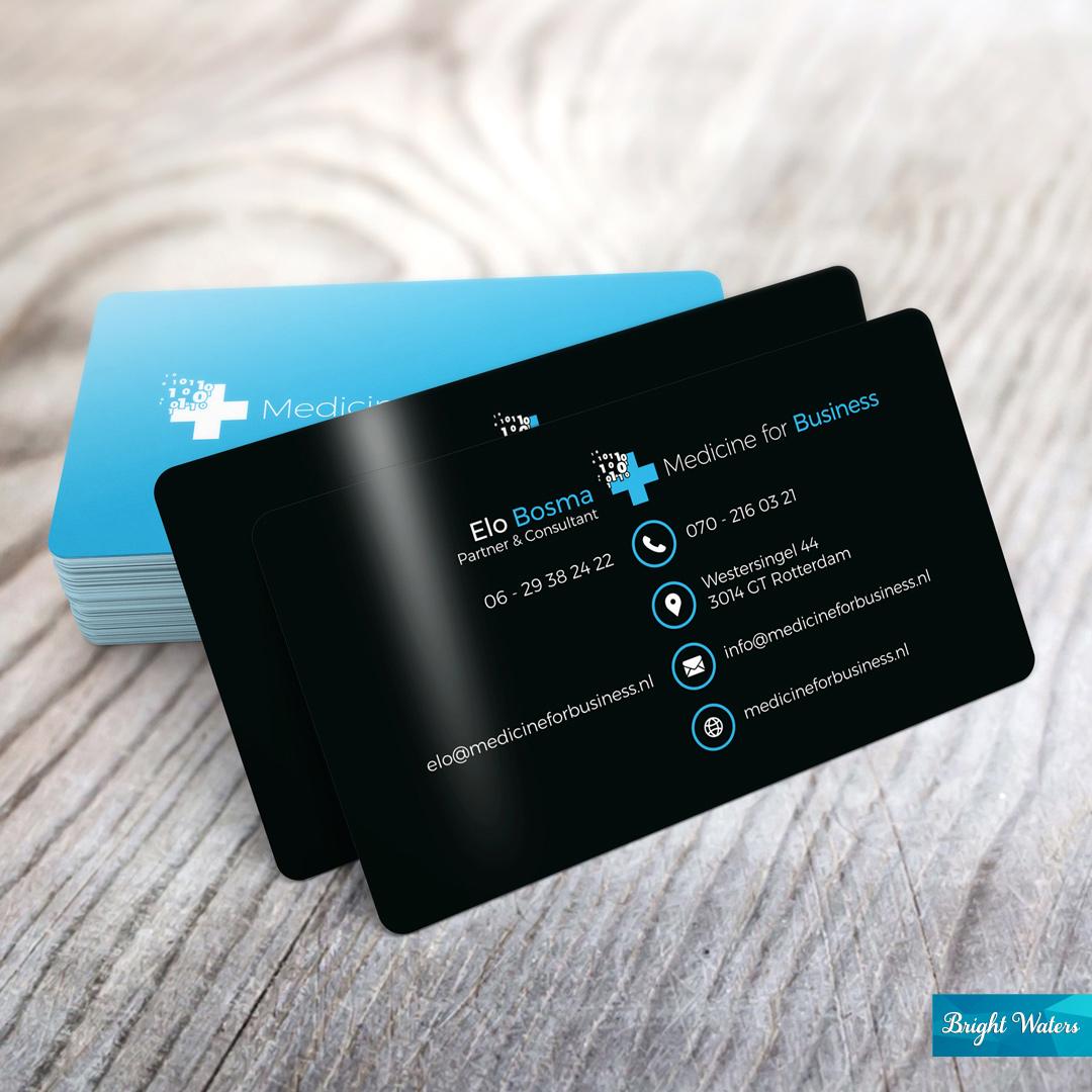Medicine for Business - Visitekaartje